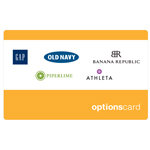 THE OPTIONS<sup>®</sup> $25 Gift Card